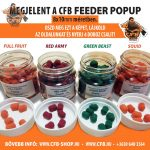FEEDER Pellet PopUp 8*10mm