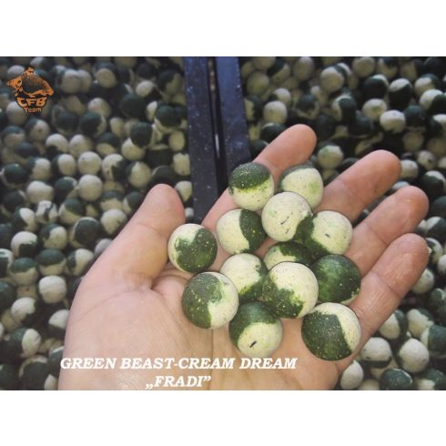 "CFB 50-50 Baits - Green Beast / Cream Dream ""FRADI"""
