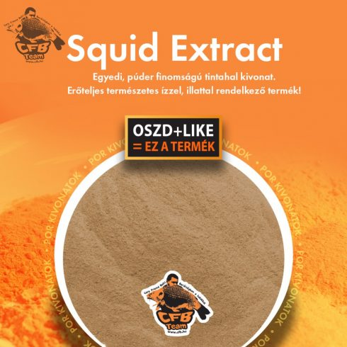 SQUID EXTRACT - TINTAHAL KIVONAT